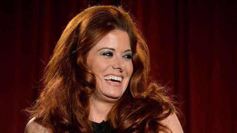 Debra Messing at the Academy of Television Arts