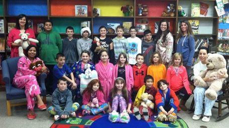 In Commack, Laura Keen's fourth-grade class at Mandracchia-Sawmill