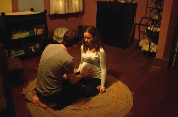 Allison Miller and Zach Gilford in