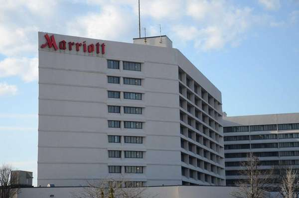 The Long Island Marriott Hotel is located at