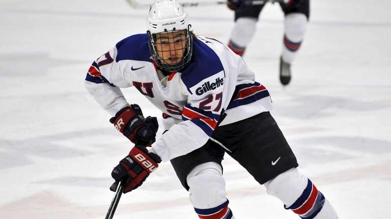 Massapequa native Sonny Milano skates for the U.S.