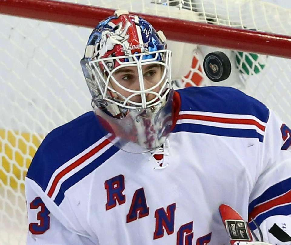Rangers' Cam Talbot keeps his eyes on a