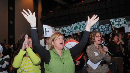 Maureen Stavrakoglou, a special-education teacher in the Brentwood