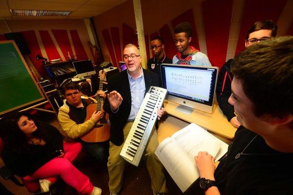 Chris Magnum, Music Department Coordinator at Long Island