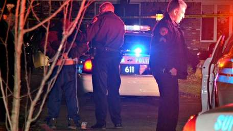 Suffolk County police are investigating a stabbing in