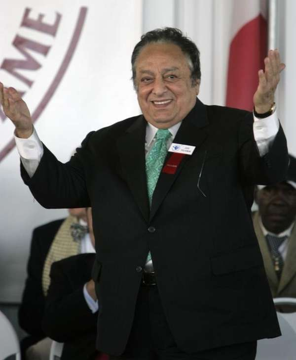 Jose Sulaiman, president of the World Boxing Council,
