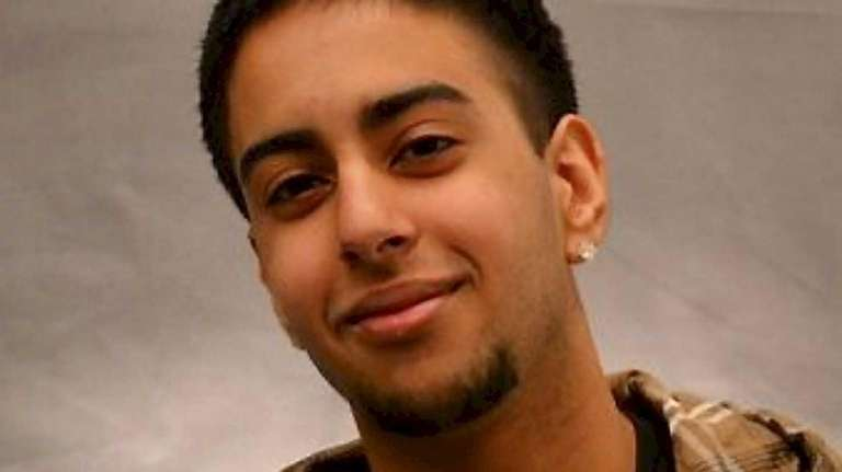 Pulkit Singh, 20, of Syosset, is shown in