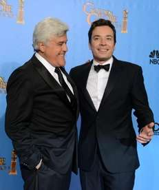 "Jay Leno talked about Jimmy Fallon and ""The"