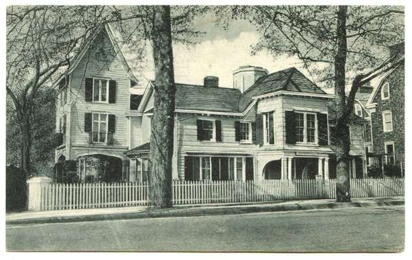 This undated postcard shows Raynham Hall in Oyster