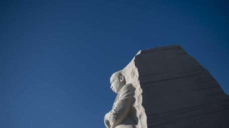 A view of the Martin Luther King Jr.