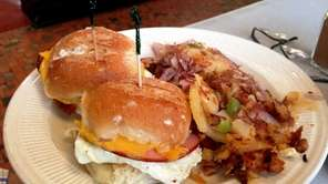 Egg sliders at Thomas's Ham 'N' Eggery in