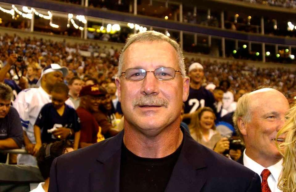 Dallas defensive tackle Randy White (pictured) was named
