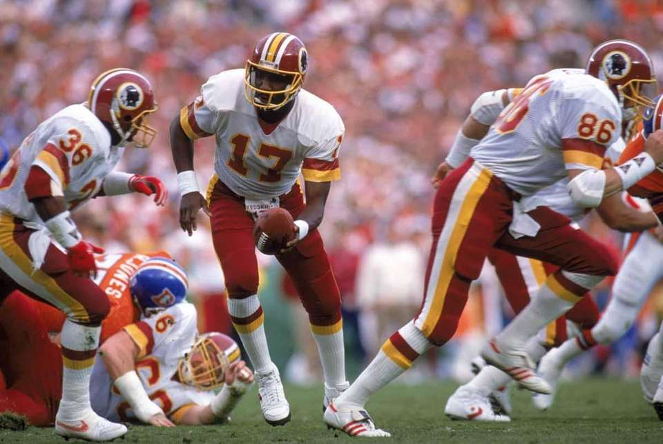 Washington QB Doug Williams was named MVP of
