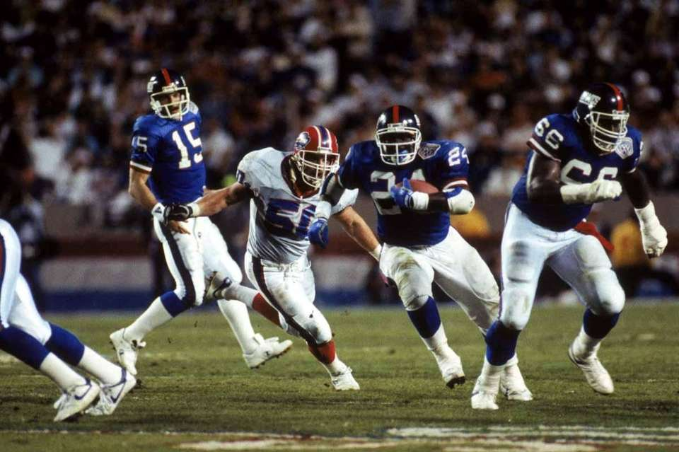 Giants running back Ottis Anderson was named MVP