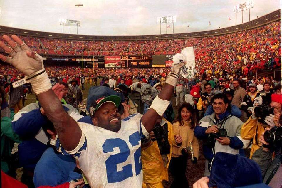 Cowboys running back Emmitt Smith won MVP honors