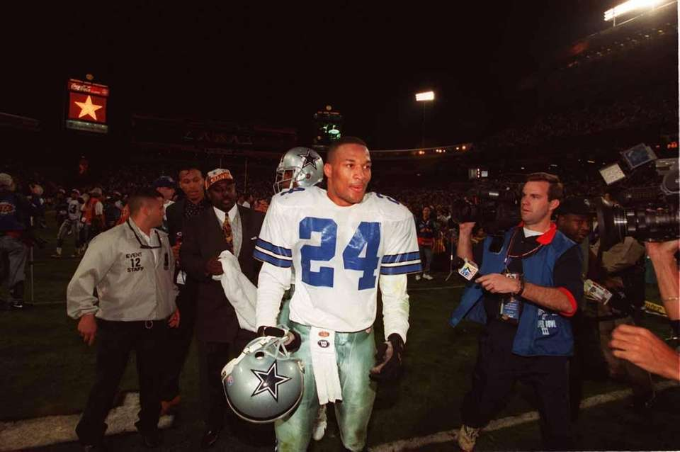 Dallas cornerback Larry Brown netted MVP honors in
