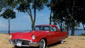 The 1957 Ford Thunderbird owned by Joseph P.