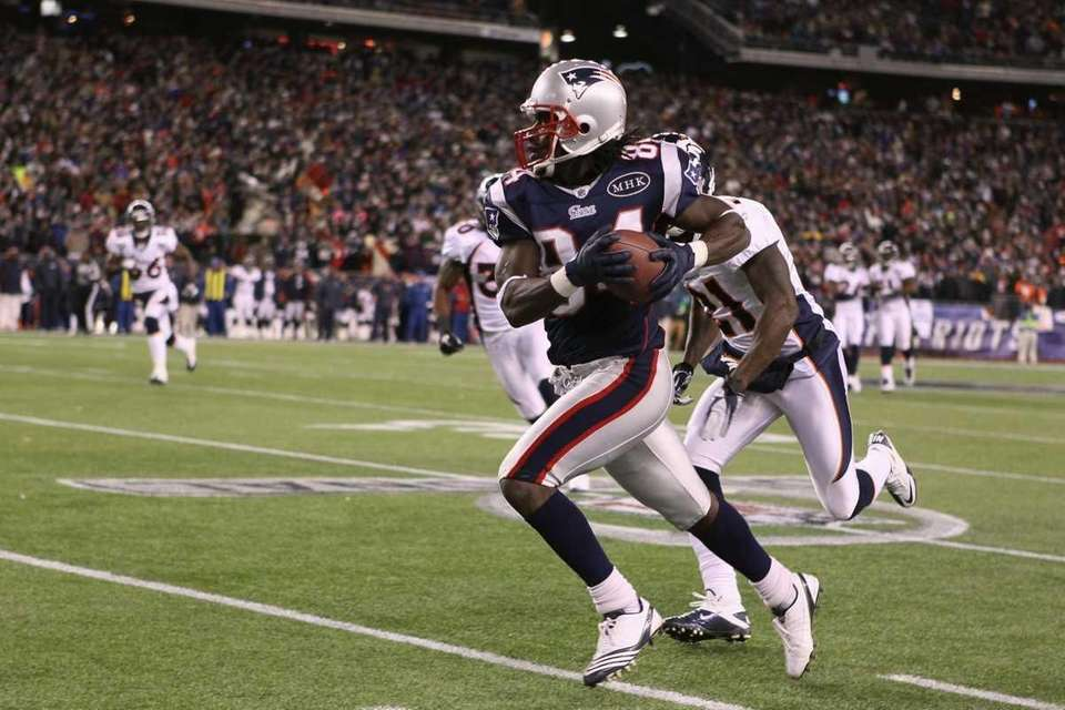 Patriots wide receiver Deion Branch was named MVP