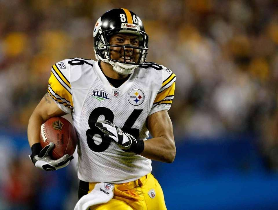 Steelers wide receiver Hines Ward was named MVP