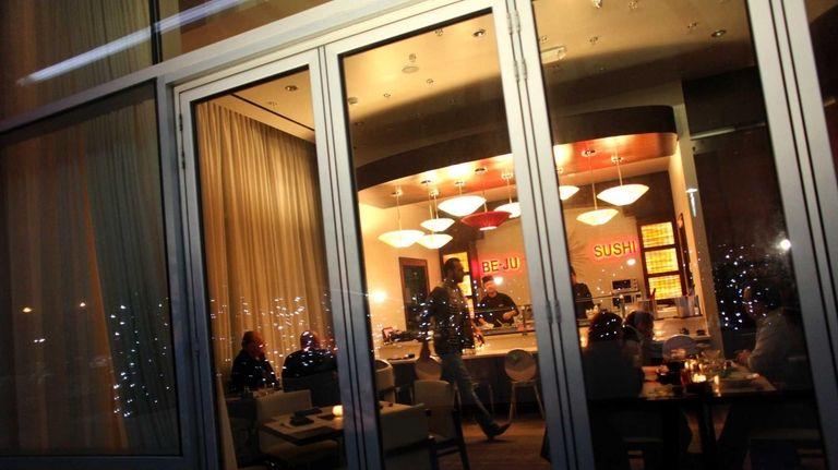 Be-Ju Sashimi & Sake Bar is a tiny
