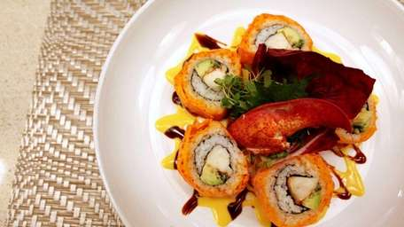 Melville's Be-Ju Sashimi & Sake Bar serves a