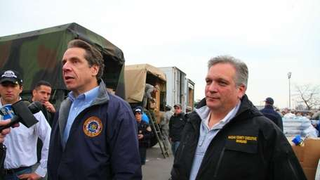 Gov. Andrew M. Cuomo and Nassau County Executive