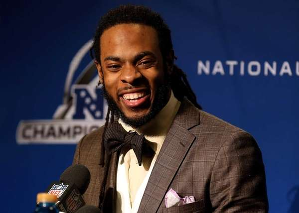 Seattle Seahawks cornerback Richard Sherman. (Jan. 19, 2014)