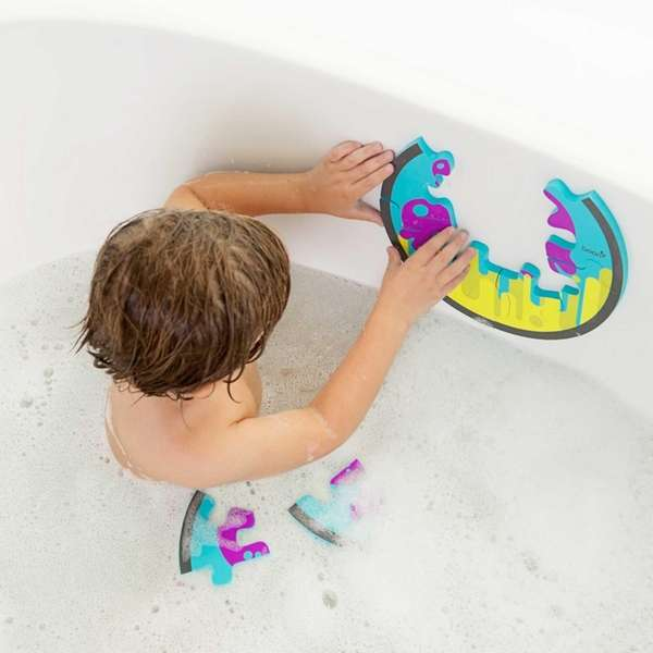 The Boon PIECES Bath Puzzle, will become available