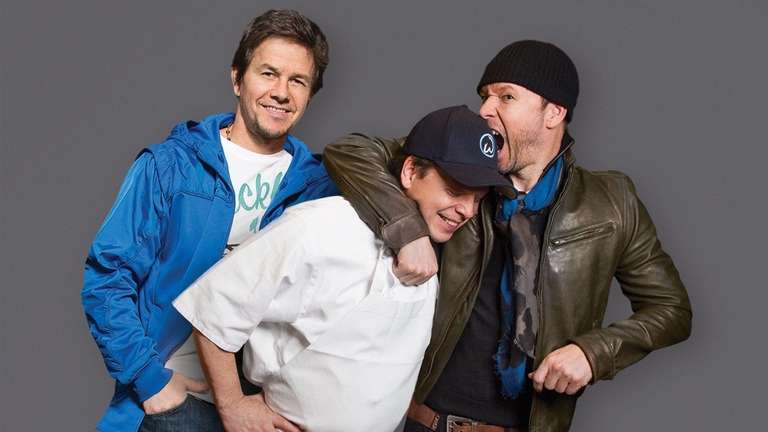 Mark and Donnie Wahlberg watch older brother Paul,