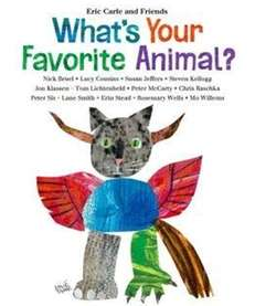 """What's Your Favorite Animal"" by Eric Carle (Henry"