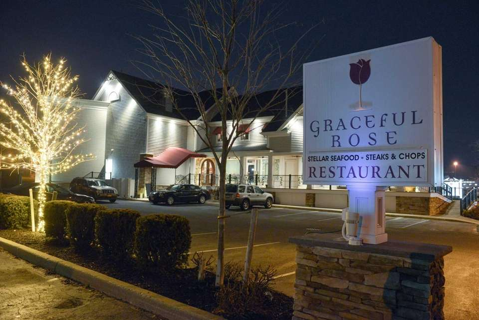 Graceful Rose, a waterview restaurant in Port Jefferson.