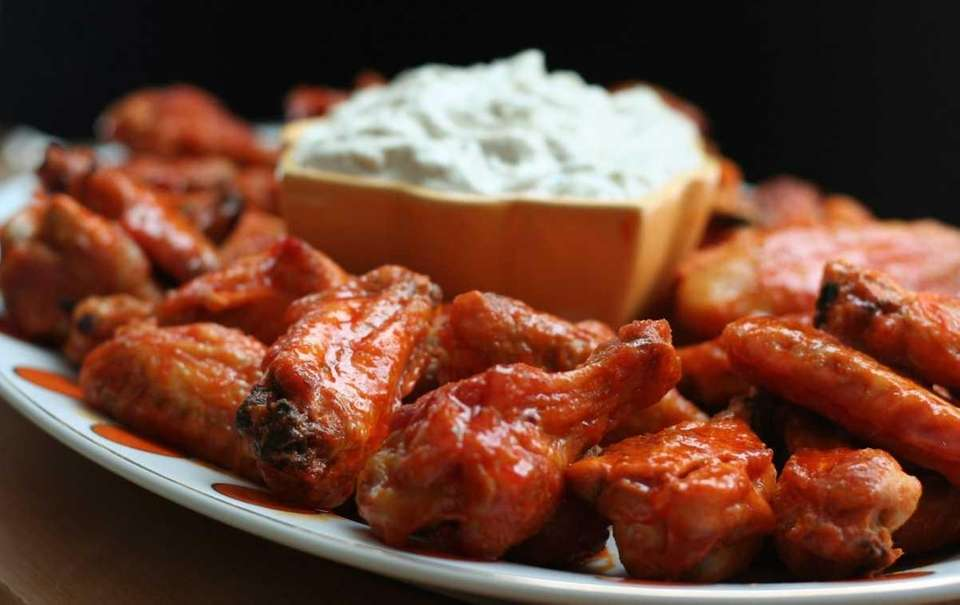 WHAT YOU'LL NEED: 5½ pounds chicken wings