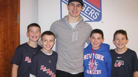New York Rangers rookie winger Chris Kreider talked