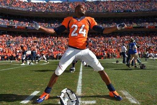 Fifteen-year veteran Champ Bailey, a 12-time Pro Bowler