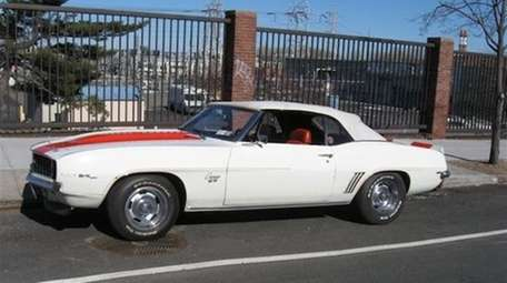 The 1969 Chevrolet Camaro SS Indianapolis Pace Car