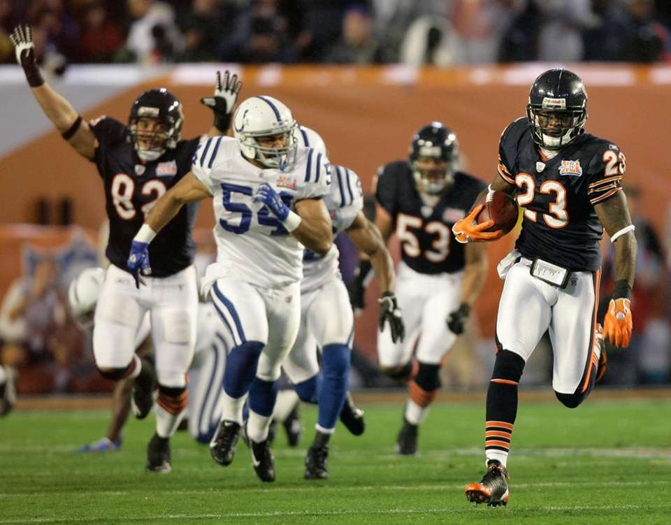 The Chicago Bears' Devin Hester is the only