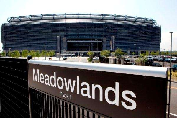 An undated file photo of the Meadowlands station