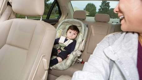 Child car seats would for the first time