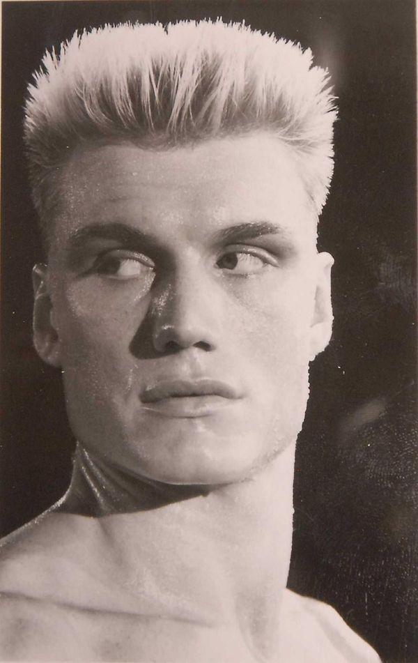 Dolph Lundgren as Ivan Drago in the movie