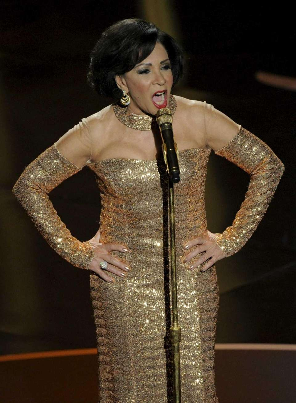 Shirley Bassey stopped the show at the 2013