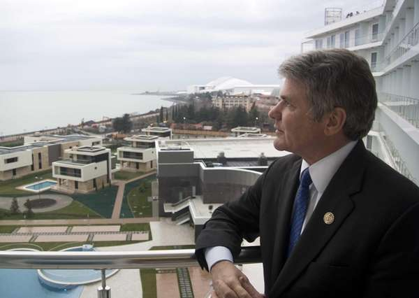 U.S. Congressman, Rep. Michael McCaul, chairman of the