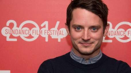 Elijah Wood at the world premiere of his