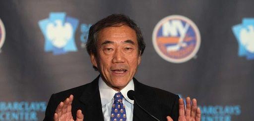 New York Islanders owner Charles Wang on Oct.