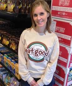 Jennifer Keschner, the owner of Eat Good gluten-free