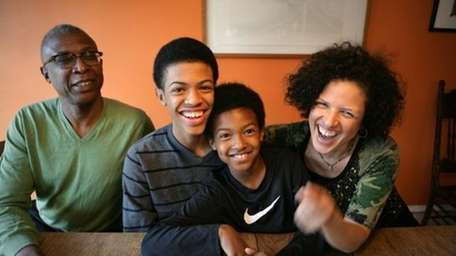 The childhoods of two African-American boys from Brooklyn