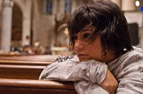 "Vanessa Hudgens in a scene from ""Gimme Shelter."""