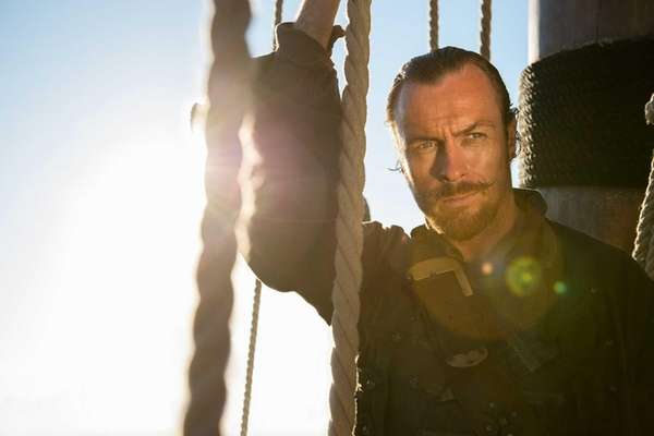 "Toby Stephens in ""Black Sails."""