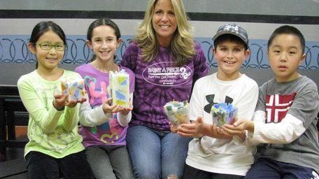Kidsday reporters Irene Lee Lindsey Komson, Chase Hecht