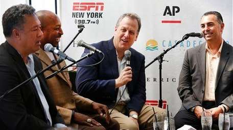 ?????Broadcaster and voice of the Yankees Michael Kay