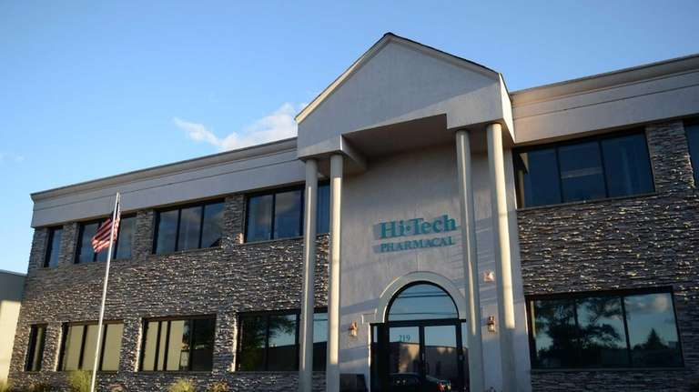 Amityville-based Hi-Tech Pharmacal headquarters on Sept. 10, 2012.